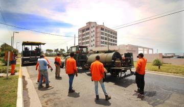 Imagen de Qué calles de Santa Teresita se están pavimentando dentro del Plan Integral de Asfalto