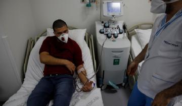 Imagen de Coronavirus en la Provincia: se curaron 30 de 33 pacientes tratados con plasma