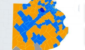 Imagen de Así quedó el mapa de la quinta sección electoral