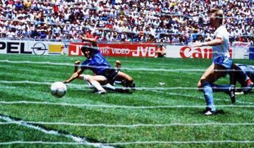 Imagen de Diego Maradona: hoy se cumplen 35 años del Gol del Siglo, con la Selección Argentina ante Inglaterra