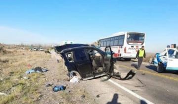Imagen de Tragedia: una familia marplatense sufrió un accidente, murieron tres niños y sus papás están internados