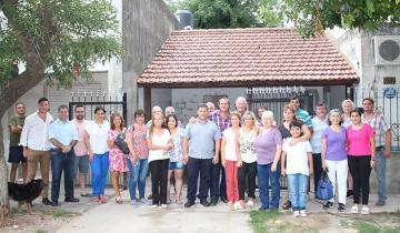 Imagen de En qué barrios de Dolores inauguraron más red de agua y cloacas