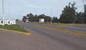 Imagen de Total imprudencia: mirá cómo un camión circulaba en contramano por la Ruta 74