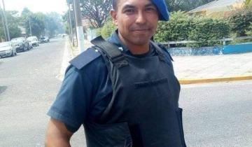 Imagen de Un efectivo de la Policía Local salvó del incendio a un jardín de Santa Teresita