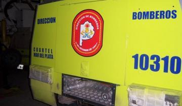 Imagen de Héroes otra vez: bomberos de Mar del Plata le salvaron la vida a un bebé