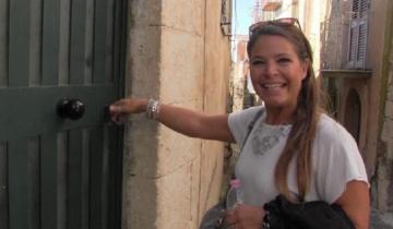 Imagen de ¿Quién es la argentina que se compró una casa de tres pisos en Sicilia por apenas un dólar?