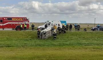 Imagen de Un trágico accidente en la Ruta 2 dejó el saldo de una mujer fallecida