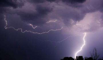 Imagen de Alerta meteorológico por vientos en el sur y tormentas en el centro de la Provincia