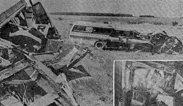 Imagen de Se cumplen 40 años de la tragedia de los micros, ocurrida a la altura de Castelli