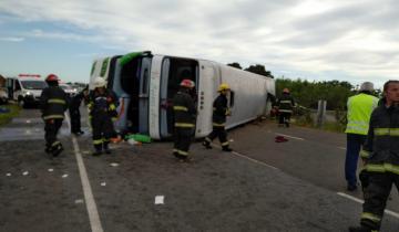 Imagen de Recién a 5 días del trágico accidente en la Ruta 2, Vidal declaró tres días de duelo