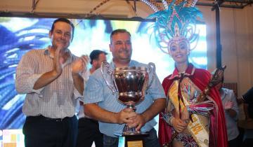Imagen de El festejo fue de Sheg Yenú, la comparsa ganadora del Carnaval de Dolores