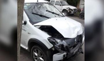 Imagen de Una mujer le dio su camioneta a un trapito para que la estacione: la volcó y se fugó