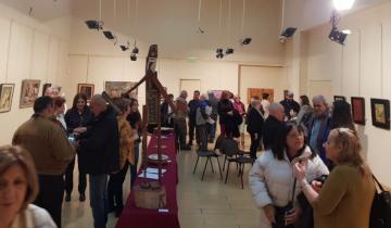 """Imagen de Quedó inaugurada la muestra anual del """"Taller del Sol"""" en General Madariaga"""