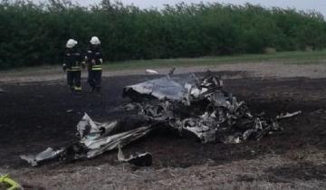 Imagen de Cayó una avioneta en Venado Tuerto: hay dos empresarios muertos