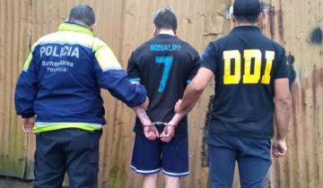 Imagen de Video: así detuvieron al acusado de matar a un hombre para robarle la moto en Mar del Plata