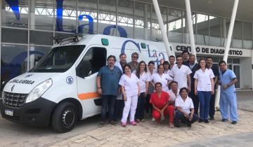 Imagen de Cómo funciona el nuevo equipo de 107 Emergencias del Hospital de Mar de Ajó