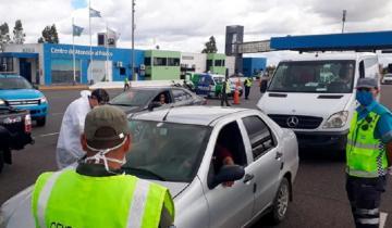 Imagen de Coronavirus: ya hay controles en la Ruta 2 para desalentar el turismo en Semana Santa