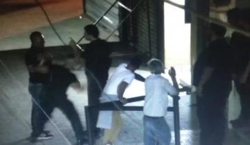 Imagen de Video: brutal ataque de patovica, que desmayó a un hombre en Balcarce