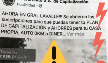 Imagen de General Lavalle: el Municipio vuelve alertar sobre publicidades engañosas para planes sociales de viviendas