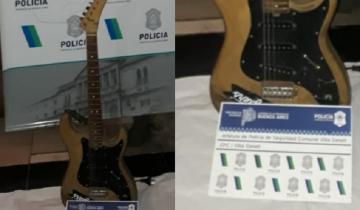 Imagen de Villa Gesell: ofrecían a la venta en redes sociales la guitarra que le habían robado