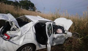 Imagen de Dos fuertes accidentes se produjeron en la Ruta 11