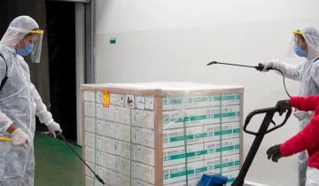 Imagen de Llega otro millón de vacunas Sinopharm, la mayoría destinadas a quienes ya se aplicaron la primera dosis