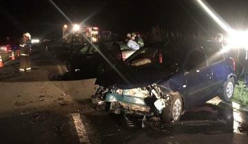 Imagen de Dos personas heridas tras un accidente en la Ruta 74