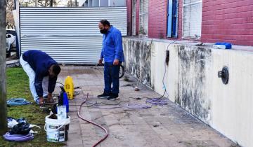Imagen de Chascomús: un hombre pintará el exterior del hospital en agradecimiento por la recuperación de su esposa