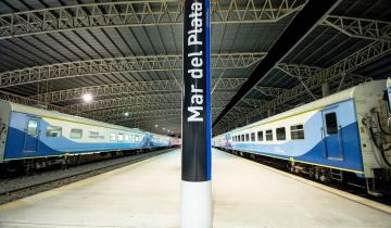 Imagen de Mar del Plata: ya están en venta los pasajes de tren para enero y ampliaron la capacidad de pasajeros