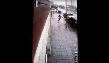 Imagen de Video: el momento en el que el hijo de un contador mató a un ladrón en Mar del Plata
