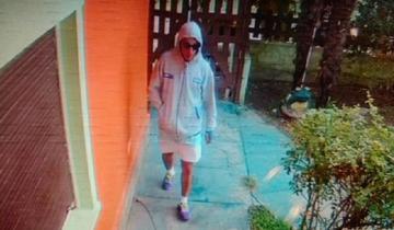 Imagen de Fue captado por una cámara de seguridad cuando robaba en Villa Gesell