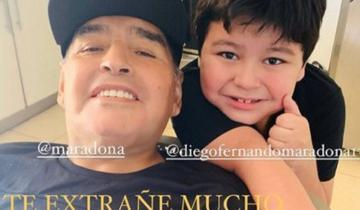 Imagen de Diego Maradona recibió el alta y continuará su recuperación en una casa de Nordelta