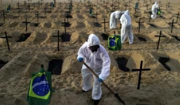 Imagen de Coronavirus: preocupación por el avance de la fuerte cepa brasilera, que es hasta un 60% más contagiosa