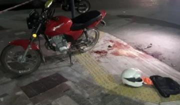 Imagen de Video: robó un local, se disparó a él mismo en la ingle y luego murió