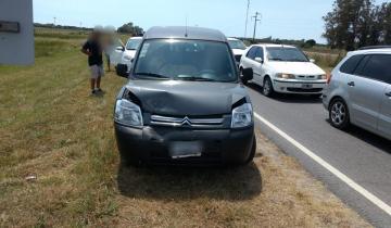 Imagen de Tres heridos tras un choque en cadena cerca de General Lavalle
