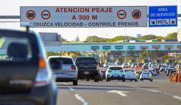 Imagen de Recambio turístico: casi 10 mil autos llegaron a Mar del Plata por la Autovía 2