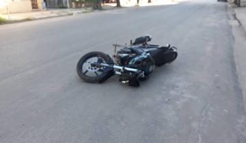 Imagen de Un nuevo accidente de tránsito en Dolores