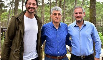 Imagen de Barrera, Yeza y Santoro: cumbre de tres intendentes reelectos en la región