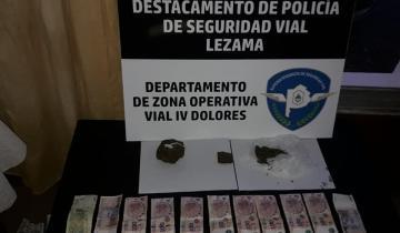 Imagen de Detuvieron a tres personas de La Costa que circulaban con droga por Ruta 2