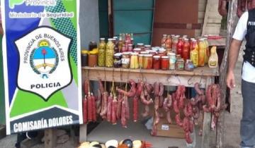 Imagen de Ruta 63: dos aprehendidos por robo en un puesto de productos regionales