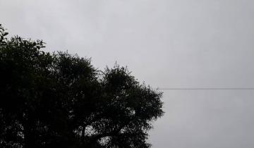 Imagen de Alerta por tormentas fuertes con ráfagas y caída de granizo en la región
