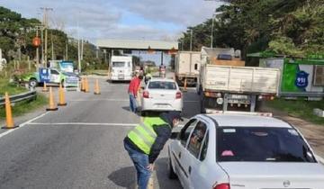 Imagen de Interceptan a 35 automovilistas que pretendían vacacionar en la Costa Atlántica