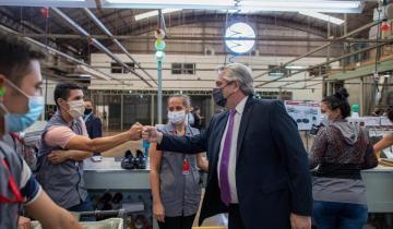 """Imagen de Alberto Fernández: """"Vamos a proteger al trabajo, al que invierte y al que produce"""""""