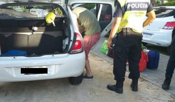 Imagen de Los interceptaron cuando pretendían ingresar con droga a Villa Gesell