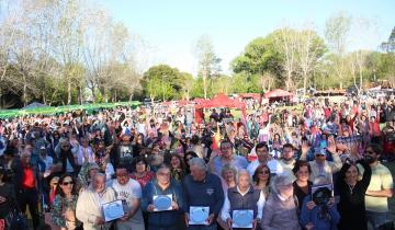 Imagen de Así se vivió la Fiesta del Empleado Ferroviario en Sevigné