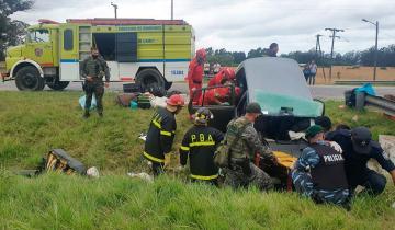 Imagen de Dos mujeres murieron en un accidente en la ruta 2