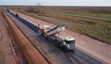 Imagen de La autovía de la Ruta 11 y la Ruta 56: antes de fin de año podrían estar finalizados los trabajos en el Corredor del Atlántico