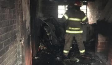 Imagen de General Madariaga: evoluciona la salud de los hermanitos heridos en el incendio de una vivienda a principio de mes