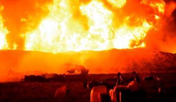 Imagen de Impactantes imágenes de la explosión en México