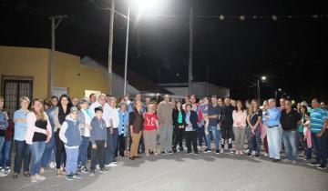 Imagen de Nueva inauguración de iluminación LED en Dolores